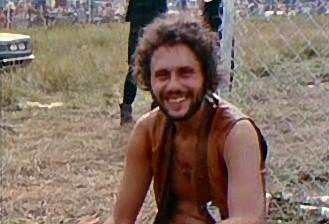 Artie Kornfeld at Woodstock 1969