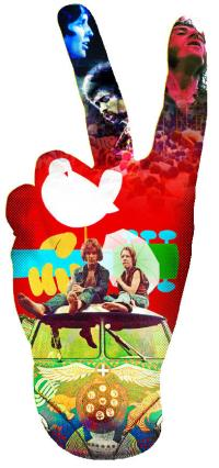 Woodstock Peace Sign