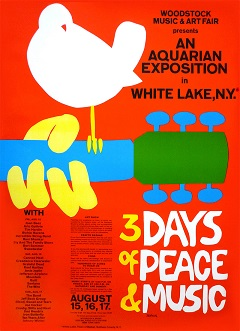 Woodstock Poster On Sale