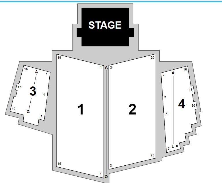 Bethel Woods Seating Chart